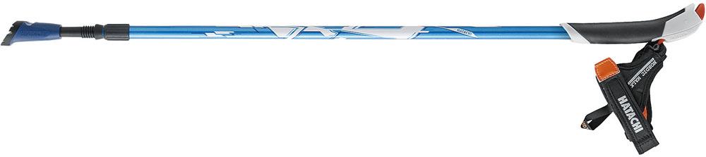 HATACHI(ハタチ)ウエルネススキーポールAGPアドバンスズームWH1330ブルー