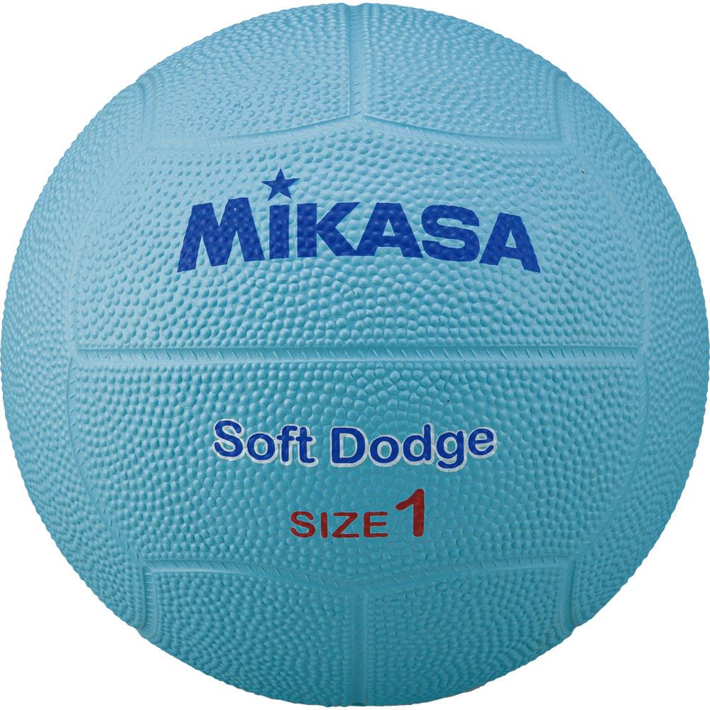 ミカサ MIKASA ボール ミカサ MIKASAソフトドッジ1号 ゴム 青 STD-1SR-BLSTD1SRBL