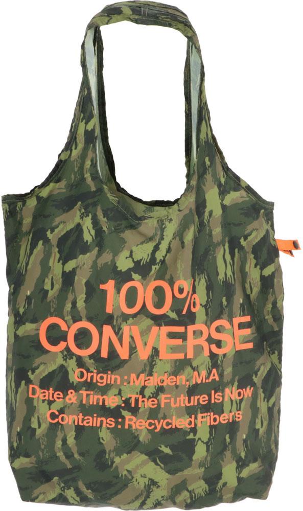 CONVERSE コンバース 訳あり品送料無料 バッグ コンバースエコバッグC2117075600C カモフラージュ お金を節約