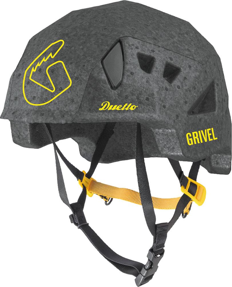 Grivel 高価値 グリベル アウトドア ヘルメット ブラック お気にいる アウトドアデュエット 軽量 スキー登山 GVHEDUEBLK クライミング