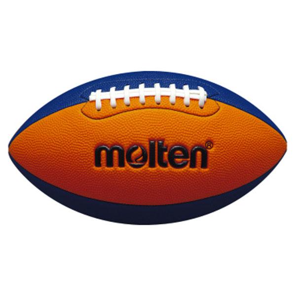モルテン 毎週更新 Molten ボール Moltenフラッグフットボールジュニア オレンジ×ブルーQ4C2500OB セール 特集