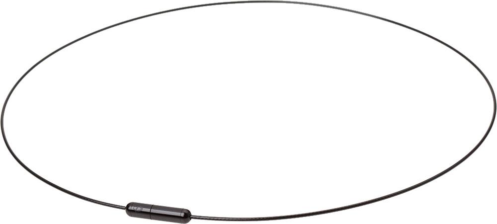 ファイテン PHITEN グッズその他 RAKUWAネック Air 再再販 50cmTG723153 無料サンプルOK ブラック×ブラック ワイヤー