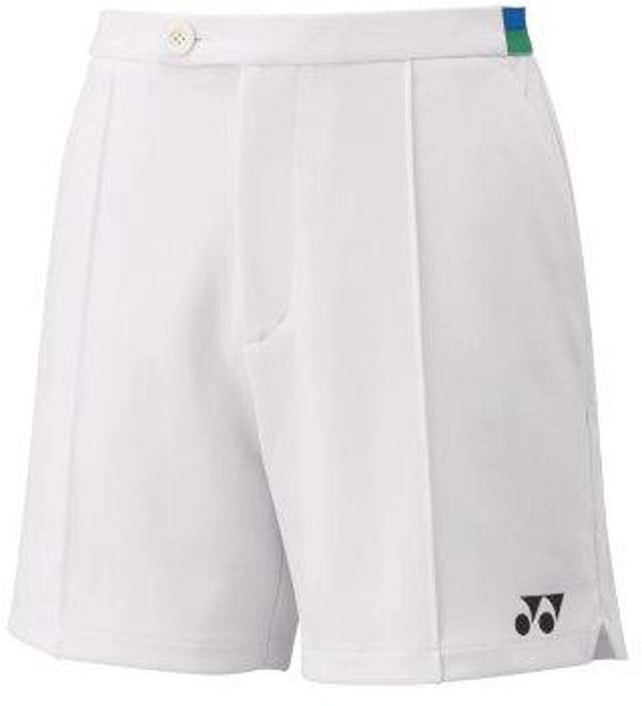 Yonex ヨネックス テニス ゲームシャツ パンツ AL完売しました。 ホワイト 75TH 10日から11日2時 ヨネックステニスメンズ 低価格化 ニットハーフパンツ15099A011 P最大10倍
