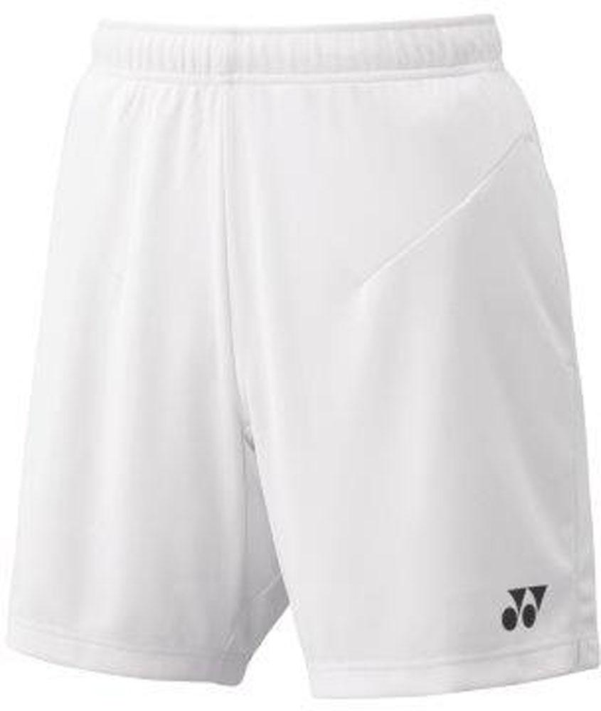 Yonex ヨネックス テニス メーカー公式 ゲームシャツ パンツ P最大10倍 ホワイト 10日から11日2時 ヨネックステニスメンズニットハーフパンツ15100011 送料無料でお届けします