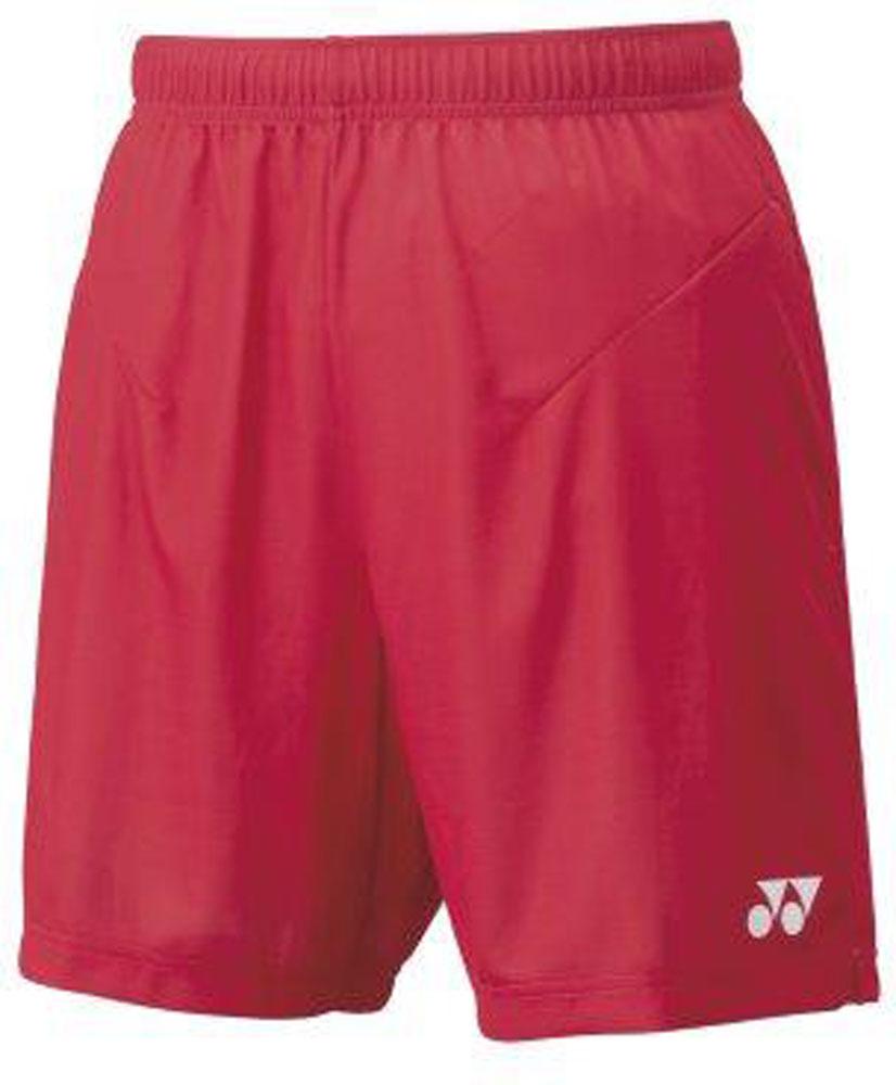 Yonex ヨネックス テニス ゲームシャツ パンツ 送料0円 ヨネックステニスメンズニットハーフパンツ15100338 10日から11日2時 ルビーレッド P最大10倍 永遠の定番モデル