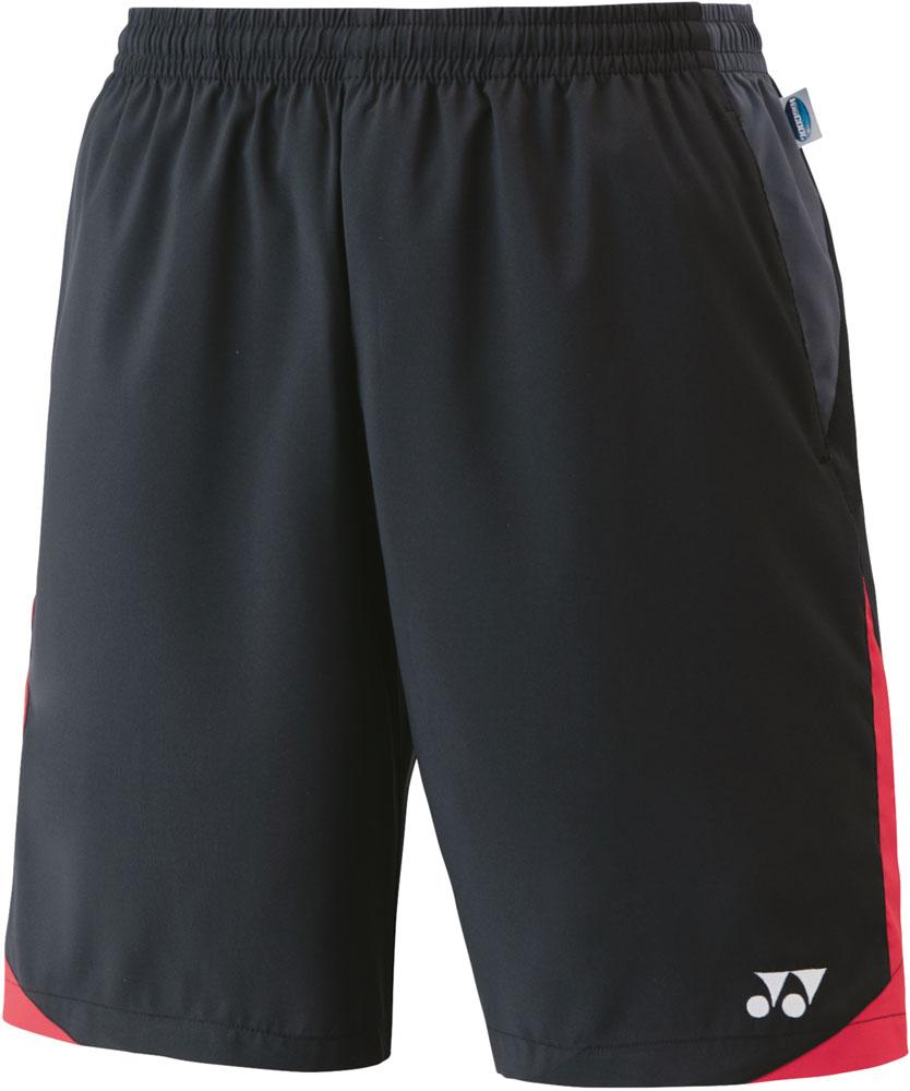 Yonex ヨネックス テニス ゲームシャツ 激安卸販売新品 パンツ 10日から11日2時 爆買い新作 P最大10倍 ヨネックステニスユニハーフパンツ15110007 ブラック