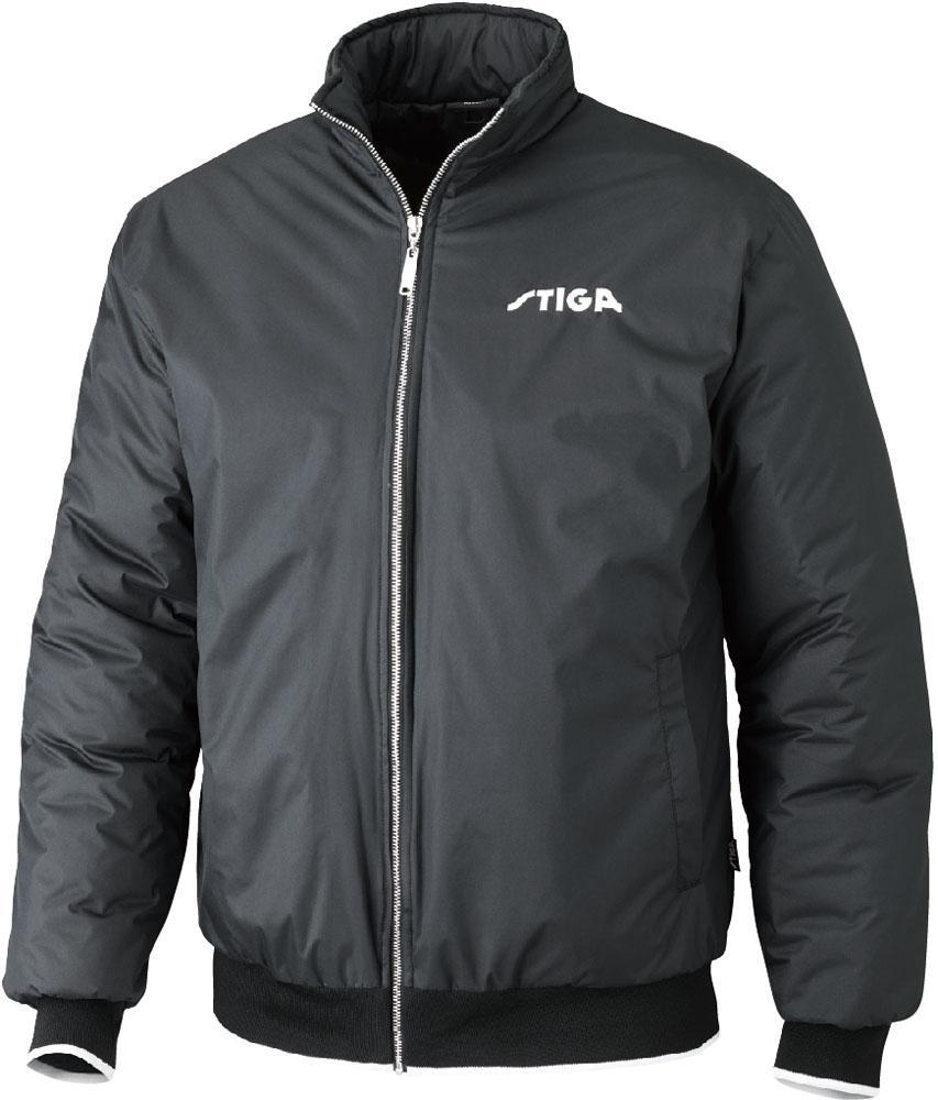 STIGA(スティガ)卓球卓球アウター SEASON JACKET シーズンジャケット ブラック M1862190105