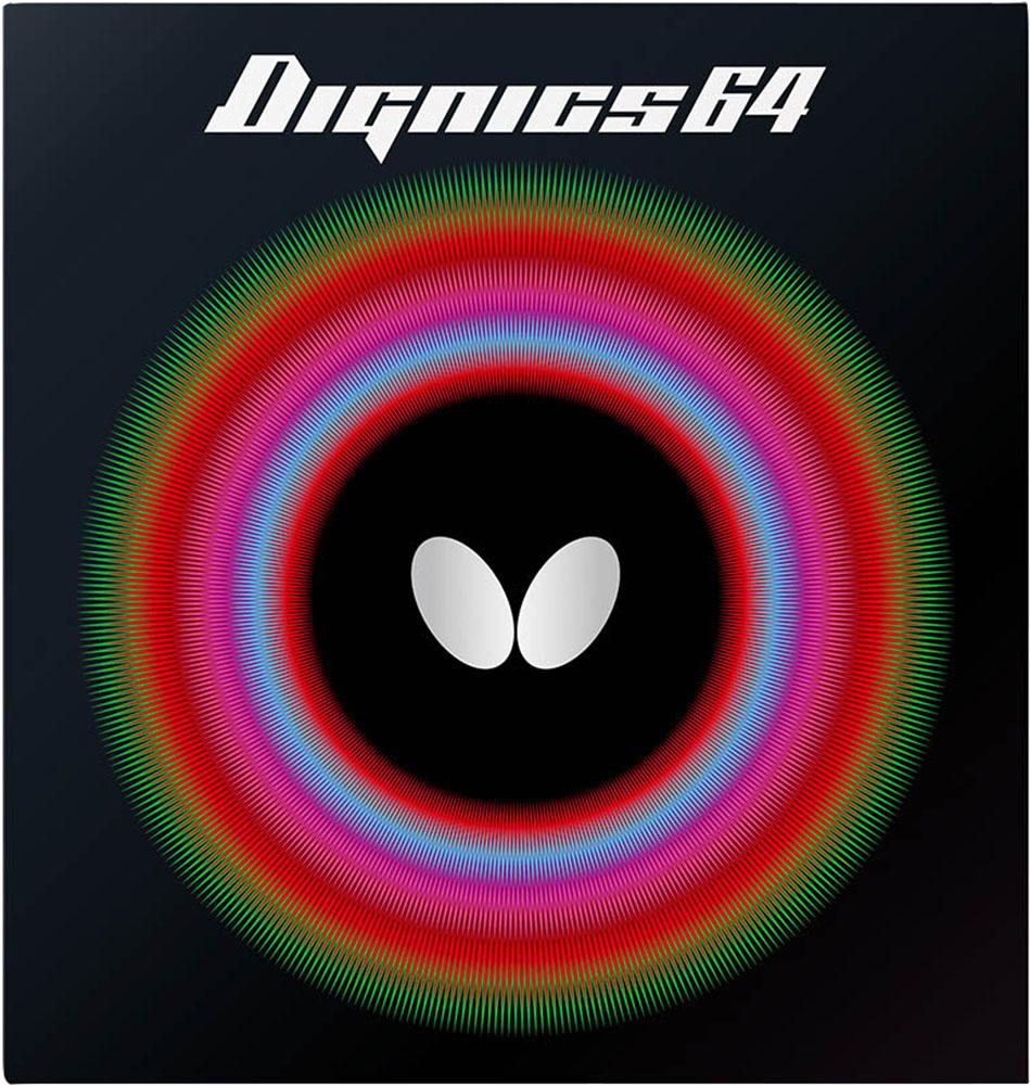 バタフライ Butterfly 人気ブランド 卓球 ガット ラバー ブラック ディグニクス6406060278 DIGNICS 64 Butterfly卓球ハイテンション裏ラバー 18日限定P最大10倍 新作からSALEアイテム等お得な商品 満載