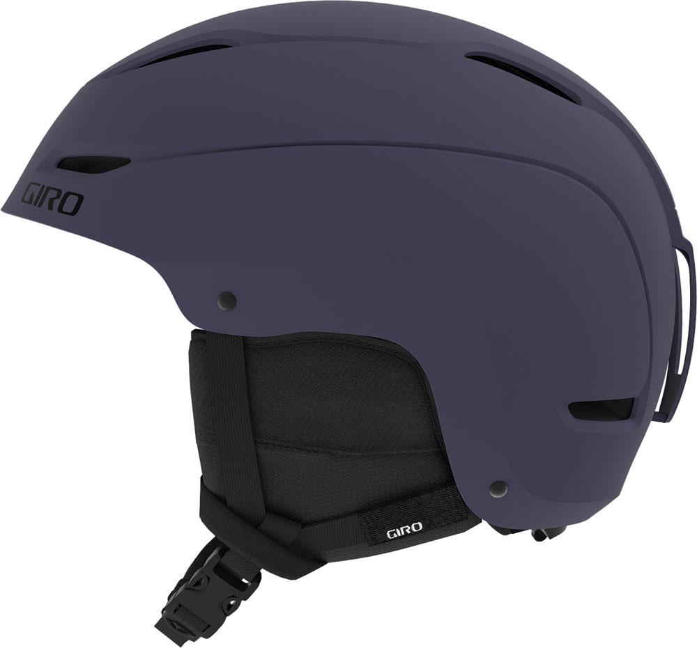 GIRO(ジロ)スノーボードスキー スノーボードヘルメット RATIO AsianFit MattMidnight メンズ L 59.0-62.5cm ヘルメット ハードシェル構造 メンズ7115597