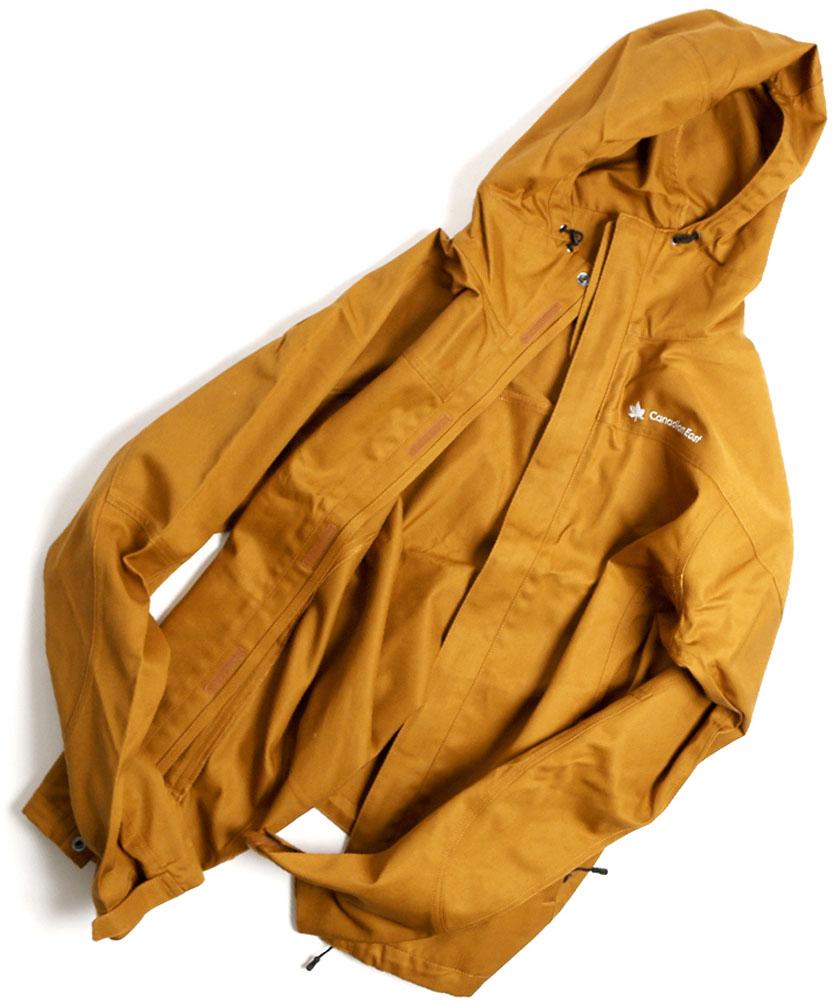 Canadian East(カナディアンイースト)アウトドア難燃ジャケット ブラックレーベル難燃ウエア CEW2000T キャンプ 焚火CEW2000TBRN