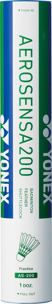 Yonex ヨネックス バドミントン 着後レビューで 送料無料 ヨネックスバドミントンエアロセンサ200AS200 シャトルコック 受賞店