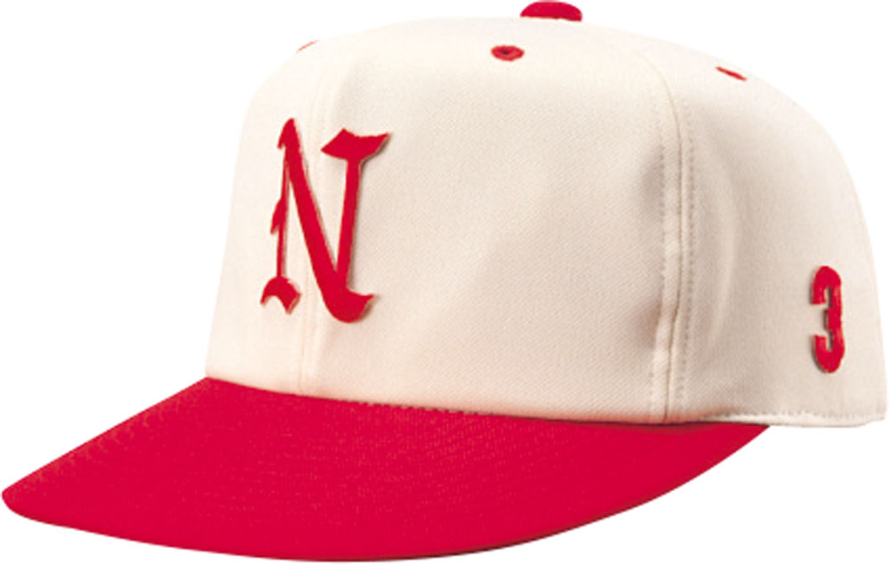 ナショナルハット 新作からSALEアイテム等お得な商品満載 NATIONAL HAT 帽子 アイボリー アカ 至高 HAT男女兼用 野球帽子 ジュニア オールニットN7522IR