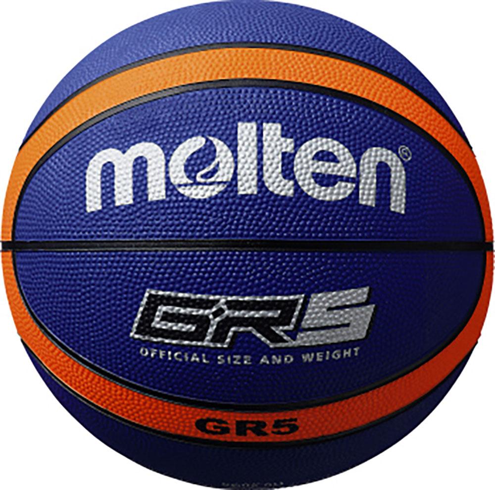 モルテン Molten バスケット ボール ゴムバスケットボール 正規品送料無料 トラスト ブルー×オレンジBGR5BO 5号球 MoltenバスケットGR5