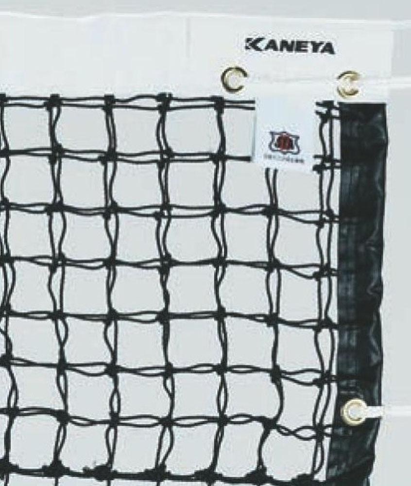 カネヤ(KANEYA)テニス【テニス用ネット】 硬式テニスネット PE_45_W 黒K1190