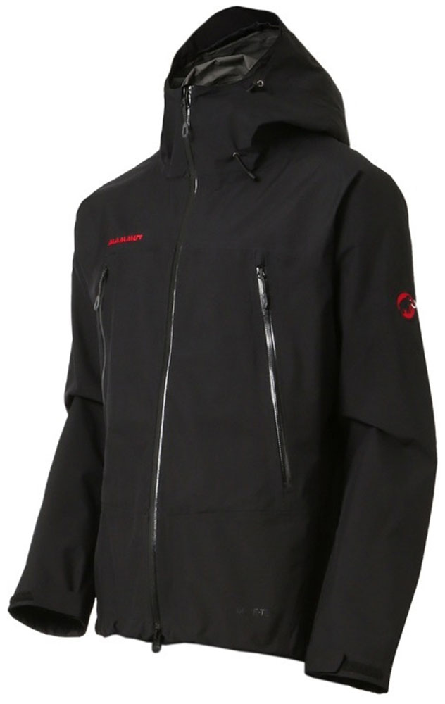 MAMMUT(マムート)アウトドアレインウェアクライメイトレインスーツ(メンズ) [CLIMATE Rain-Suits Men] 1010-26550101026550BLK-BLK