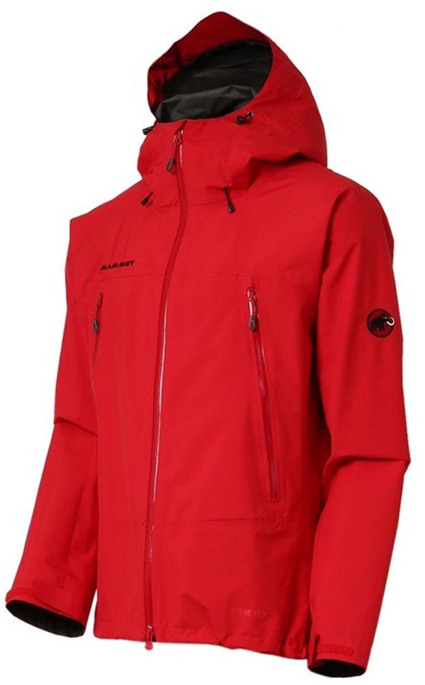 MAMMUT(マムート)アウトドアレインウェアクライメイトレインスーツ(メンズ) [CLIMATE Rain-Suits Men] 1010-26550101026550MAGMA-BLK