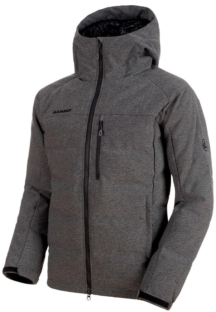 MAMMUT(マムート)アウトドアウインドウェアSERAC IN Hooded Jacket Men101300680BLK MELANGE