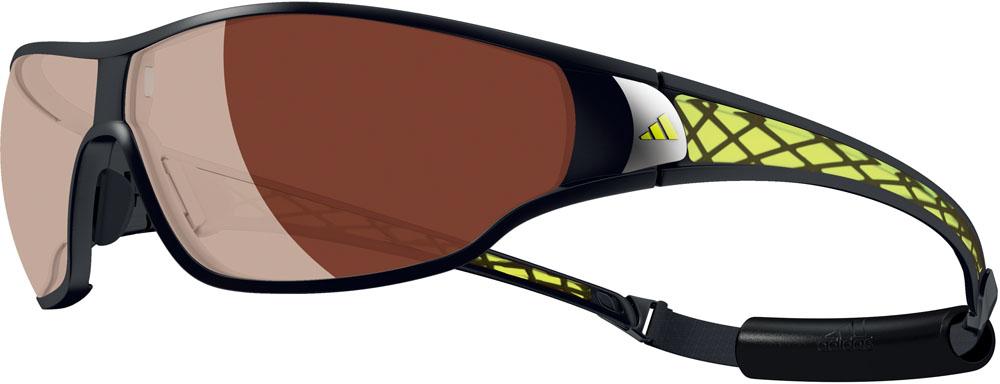 adidas(アディダス)マルチSPゴーグル・サングラスtycana pro L 偏光レンズ マットブラックラブライムA189016051