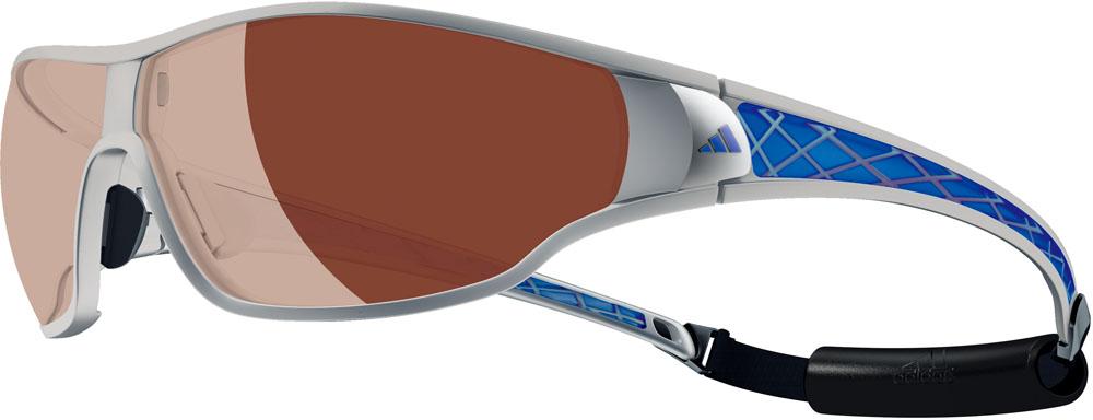 adidas(アディダス)マルチSPゴーグル・サングラスtycana pro S 偏光レンズ シルバーメタルブルーA190016053