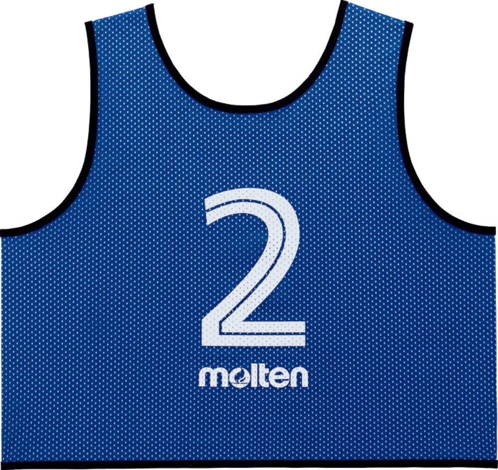モルテン(Molten)マルチSPゲームベスト GV10枚セット ブルーGS0113B