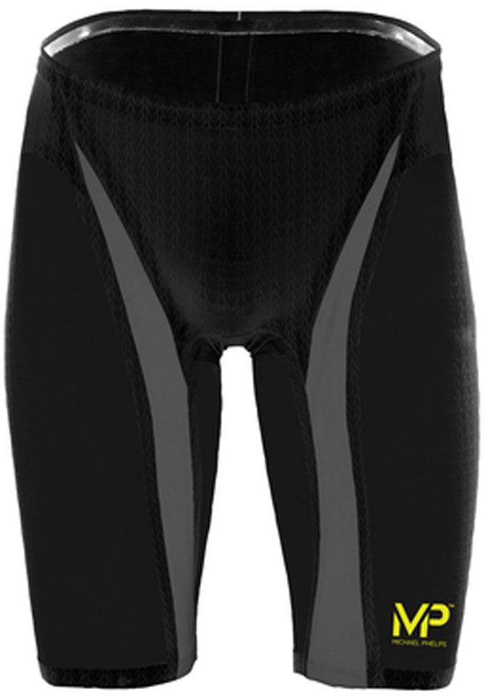 アクアスフィア水泳水球競技水着メンズ エクスプレッソ ブラック×シルバー L111575ブラック/シルバー