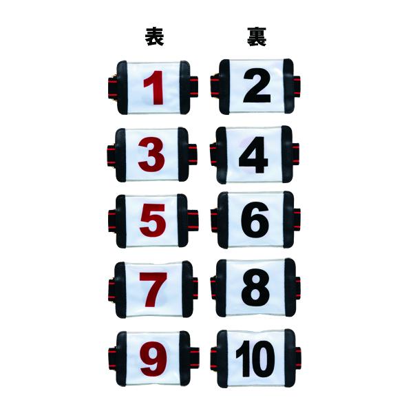 ニチヨー(NICHIYO)リクレションアームゼッケン(腕用両面5枚組)AZ5W