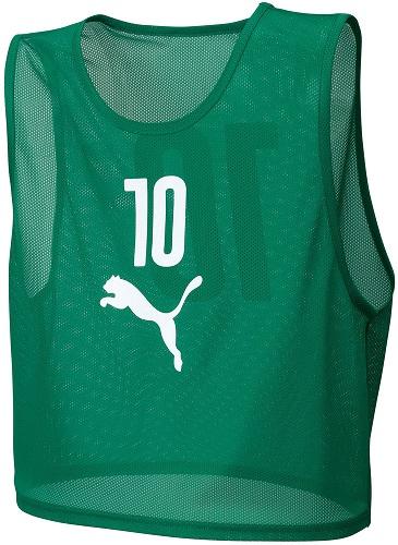 PUMA(プーマ)サッカーゲームシャツ・パンツビブスセット(10枚組)92060402POWER GREE