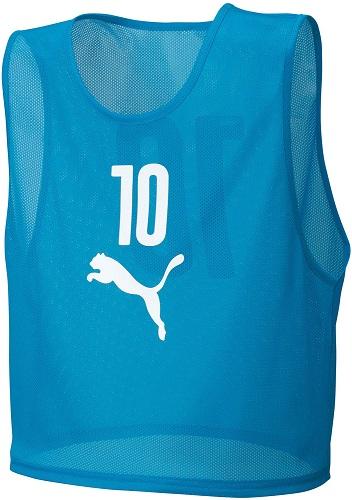 PUMA(プーマ)サッカーゲームシャツ・パンツビブスセット(10枚組)92060403ATOMIC BLU