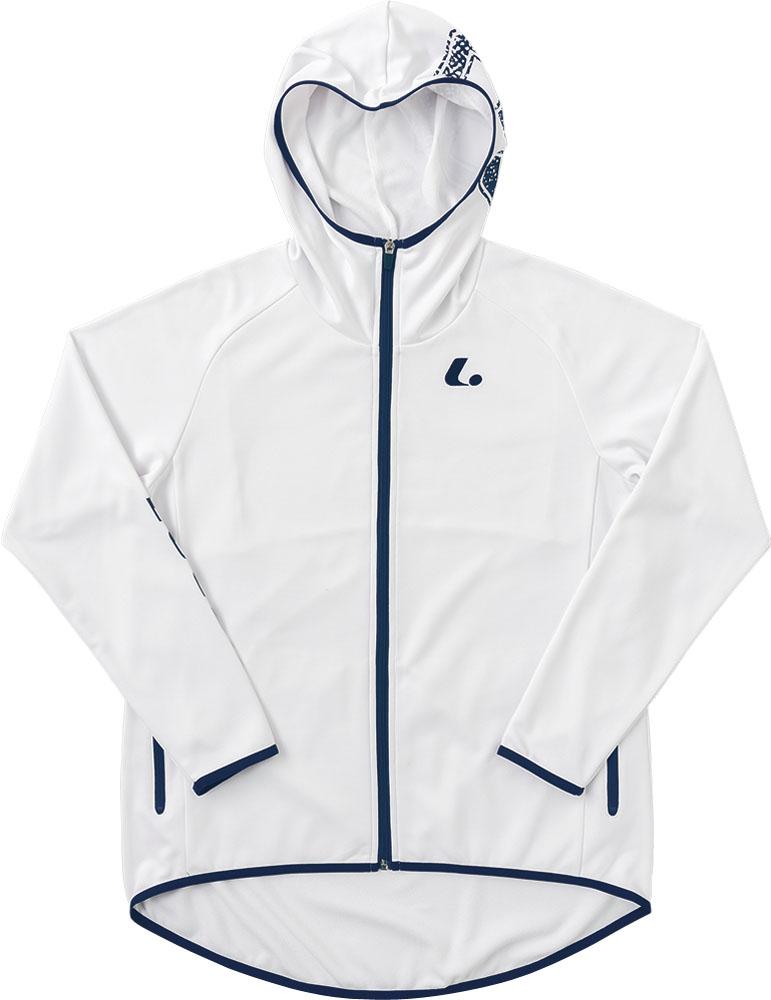 LUCENT(ルーセント)テニスレディース ウォームアップパーカー ホワイトXLW6360
