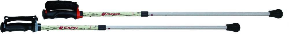 SINANO(シナノ)ウエルネススキーポールひかる安心二本杖 ショート 125540125540