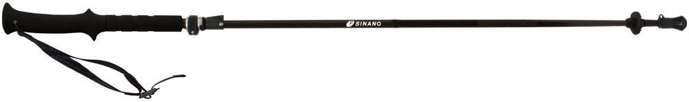SINANO(シナノ)アウトドアスキーポールSINANO トレッキングポール フォルダーTWIST 125 ブラック113473