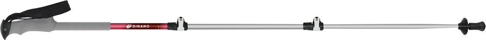 SINANO(シナノ)アウトドアスキーポール登山 トレッキングポール 初心者おすすめモデル ロングトレイル 115 マゼンタ113488