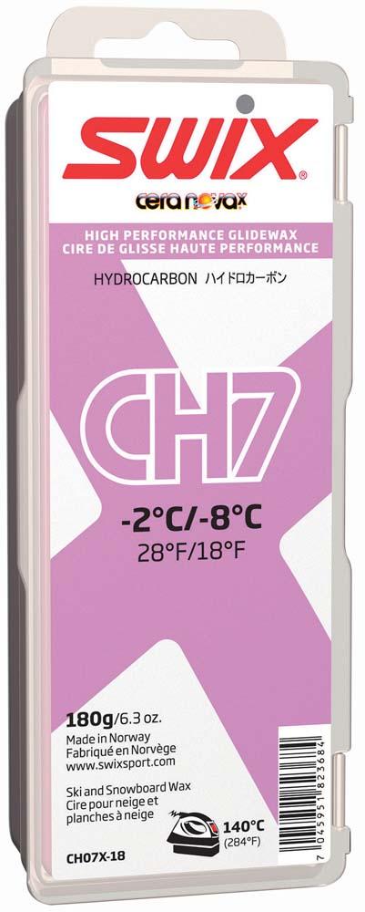SWIX(スウィックス)スキーチューンナップ【スキー・スノーボード用ワックス】 CHX WAXES - HIGH HYDROCARBON(マイナス2℃~マイナス8℃)(10個セット)CH07X18