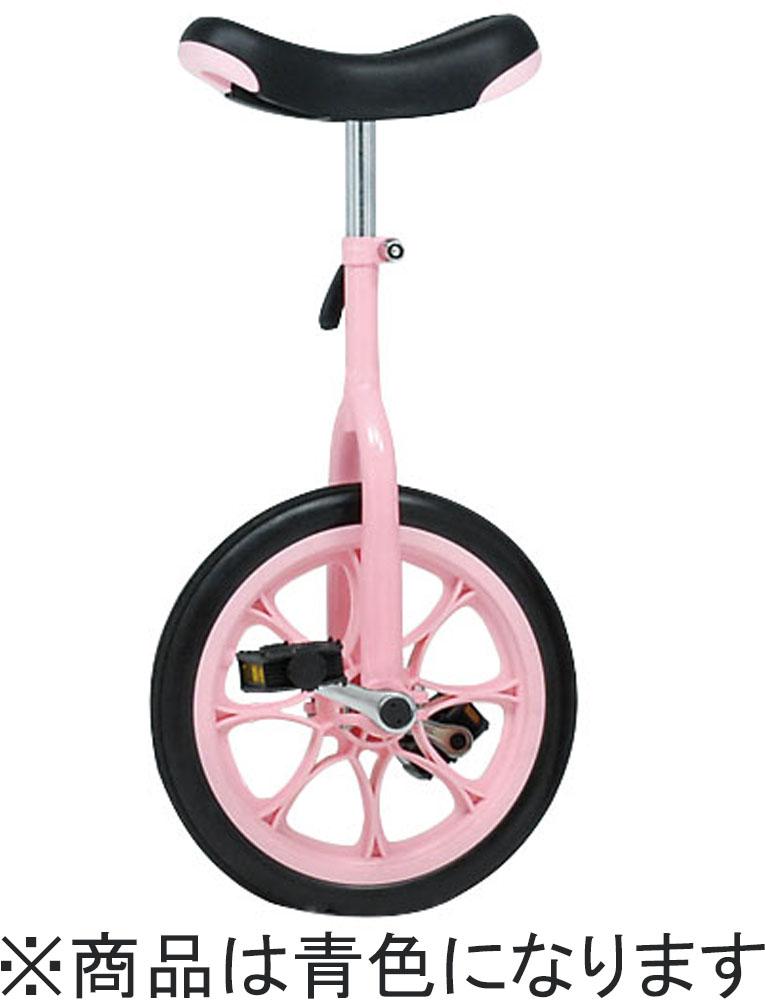 トーエイライト学校体育器具自転車ノーパンク一輪車14(青)T2664B