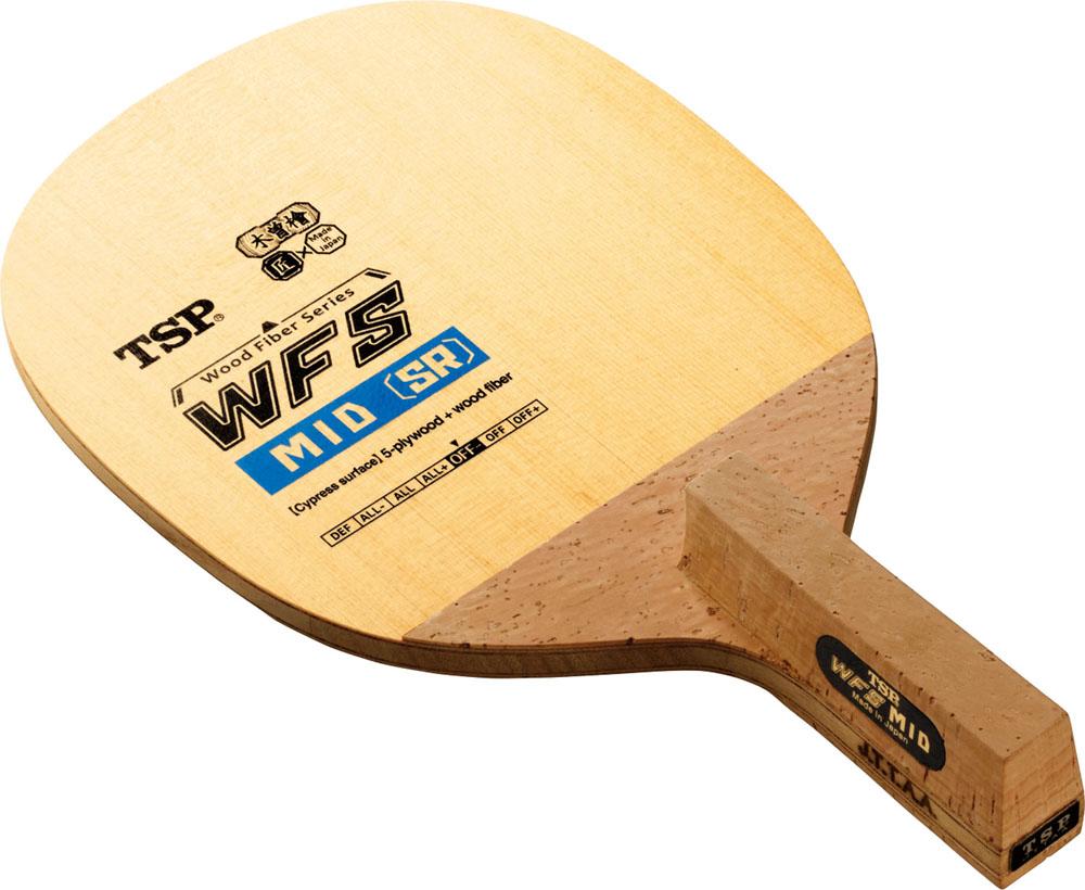 TSP卓球卓球 ラケット 日本式ペン WFSミッド SR_(_角丸型_)026592