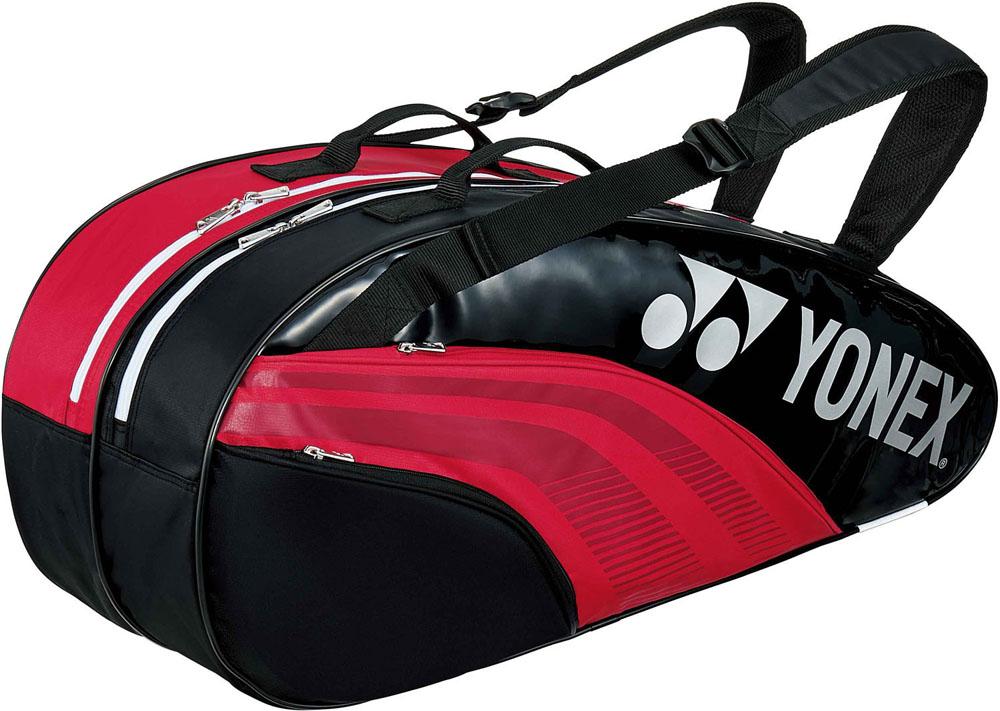 Yonex(ヨネックス)テニスバッグTEAM SERIES ラケットバック6 リュック付き(テニスラケット6本用)BAG1932RR/BK