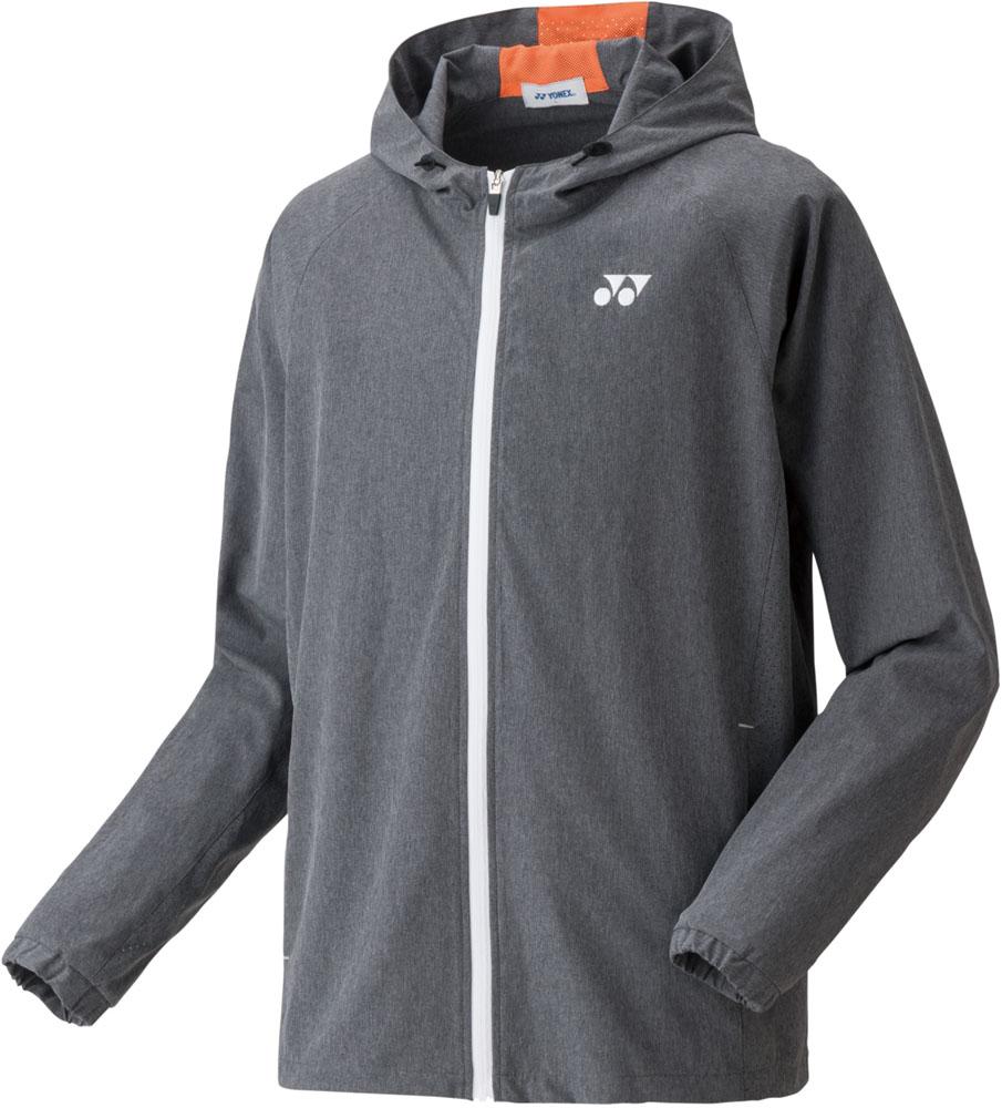 Yonex(ヨネックス)テニストレーニングウェア男女兼用 テニスウェア ウォームアップパーカー(フィットスタイル) ユニセックス50074グレー