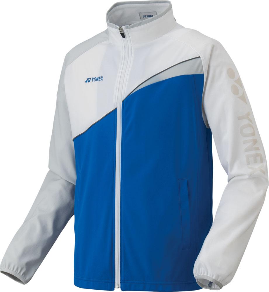 Yonex(ヨネックス)テニストレーニングウェア【男女兼用 テニスウェア】 UNI ニットウォームアップシャツ(フィットスタイル)52012ブラストブルー