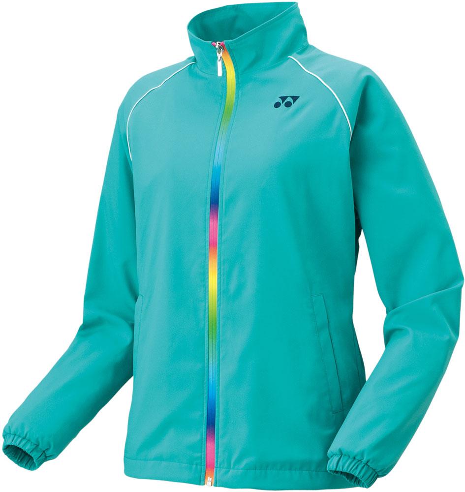 Yonex(ヨネックス)テニスウインドウェア(レディース テニスウェア) ウイメンズ 裏地付ウィンドウォーマーシャツ(フィットスタイル)78049エメラルドグリーン