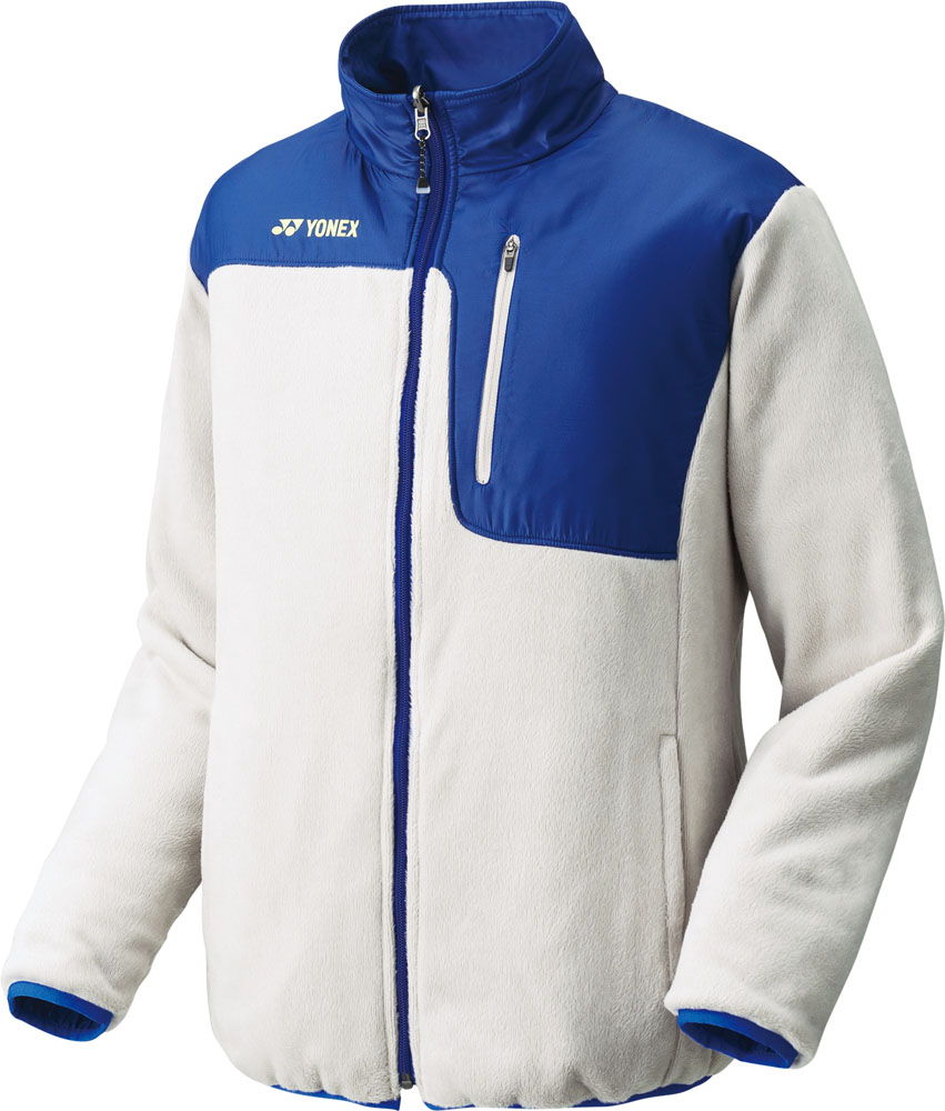 Yonex(ヨネックス)テニスウインドウェア【男女兼用 テニスウェア】 ユニ ボアリバーシブルジャケット90039サンドベージュ