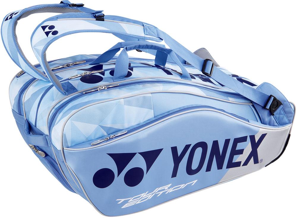 Yonex(ヨネックス)テニスバッグラケットバッグ9 ラケット9本収納BAG1802Nクリアーブルー