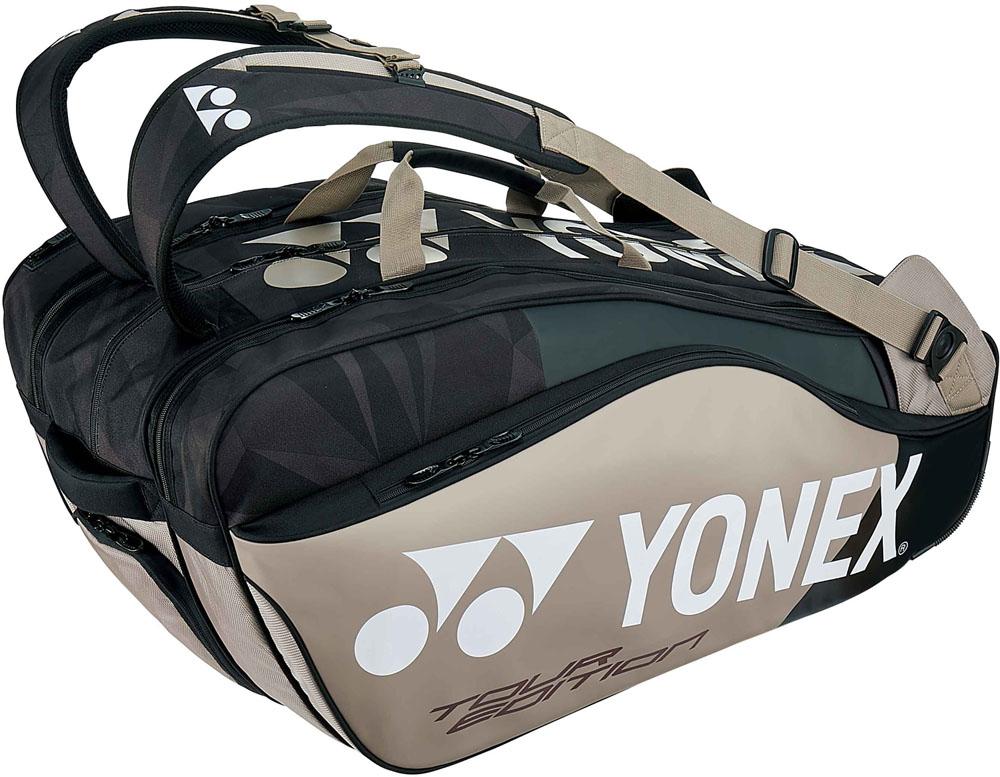 【名入れ無料】 Yonex(ヨネックス)テニスバッグラケットバッグ9 ラケット9本収納BAG1802Nプラチナ, ガス器具ネット:76066bc1 --- pokemongo-mtm.xyz