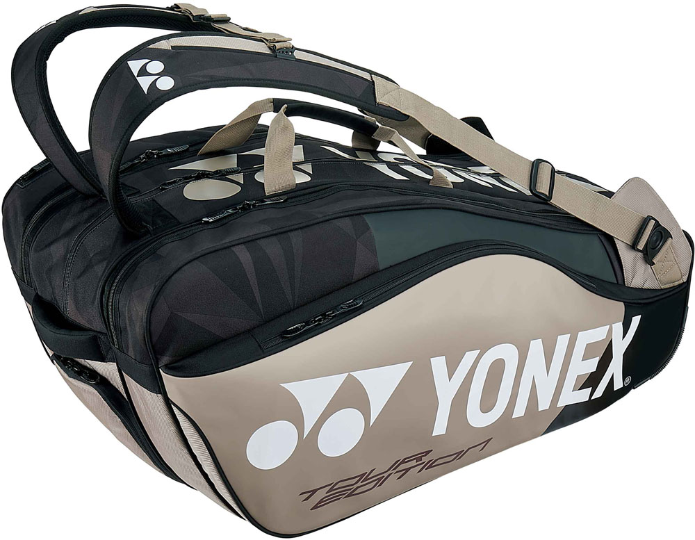 Yonex(ヨネックス)テニスバッグラケットバッグ9 ラケット9本収納BAG1802Nプラチナ