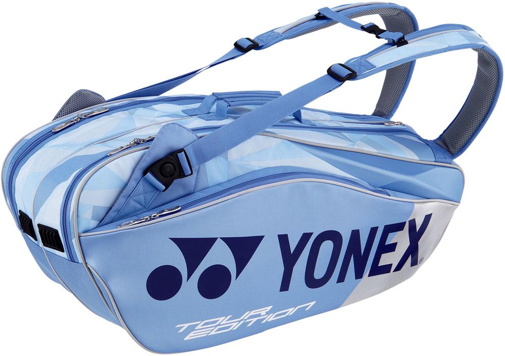 Yonex(ヨネックス)テニスバッグラケットバッグ6 ラケット6本収納BAG1802Rクリアーブルー