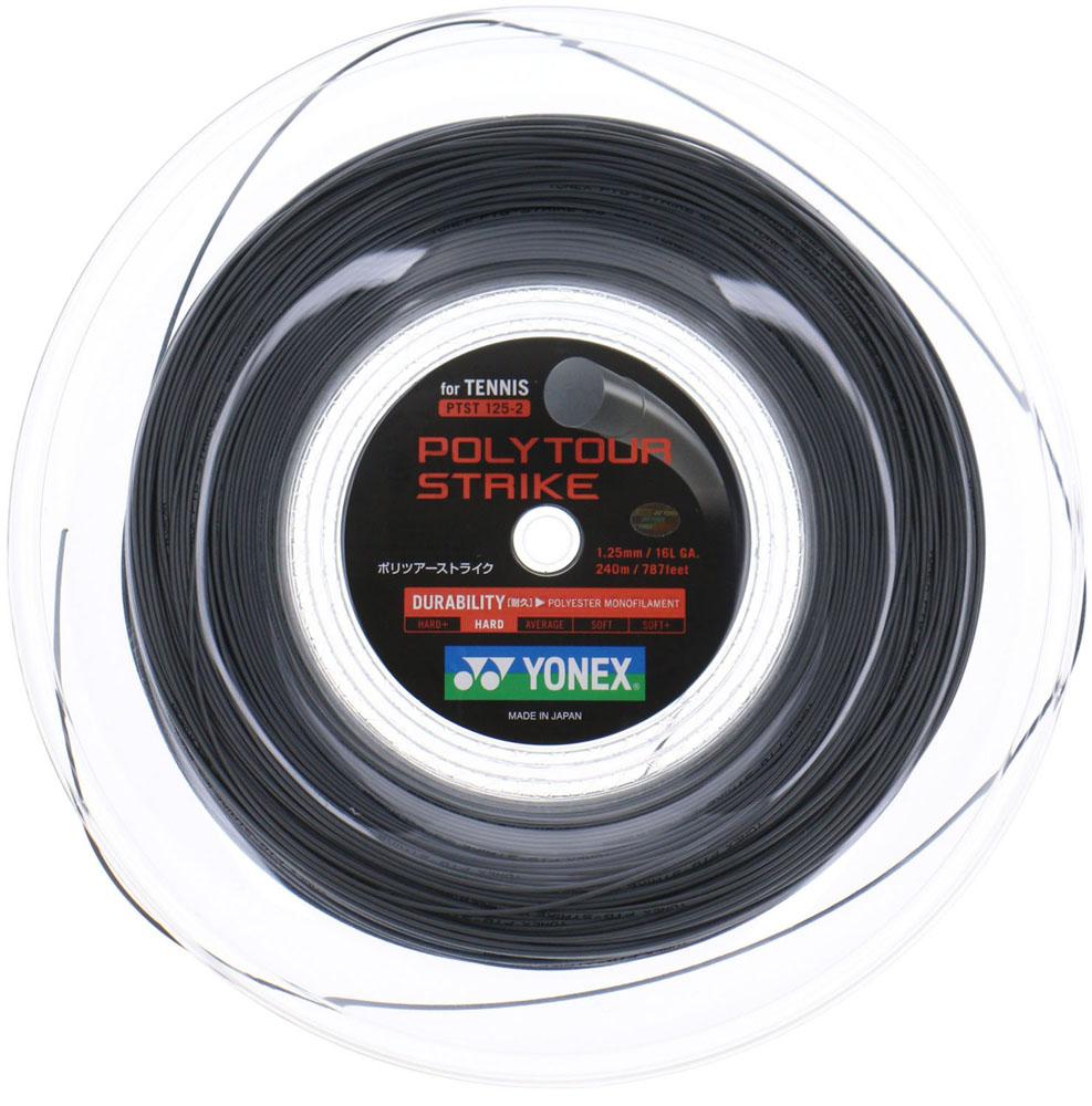 日本最大級 Yonex(ヨネックス)テニスガット・ラバーポリツアーストライク125(240mロール)PTST1252IGR, 手芸と生地のユザワヤ2号館:b2c9e501 --- canoncity.azurewebsites.net