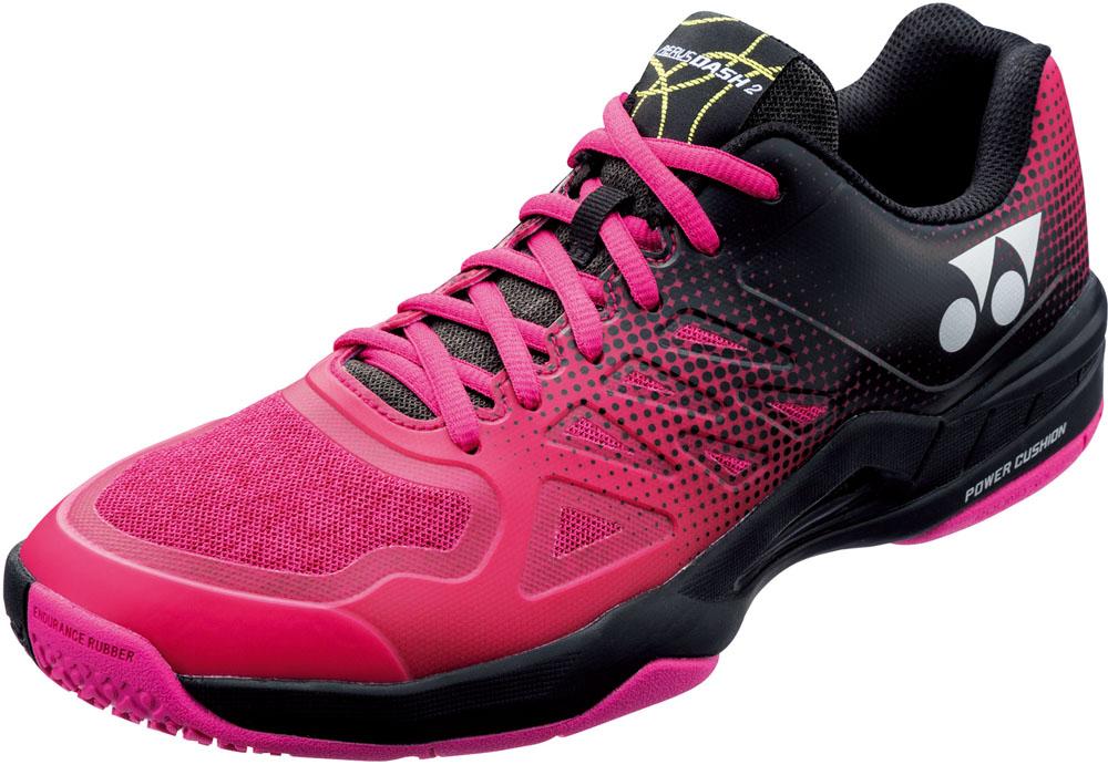 Yonex(ヨネックス)テニスシューズパワークッションエアラスダッシュ2GCSHTAD2WGブラック/ピンク