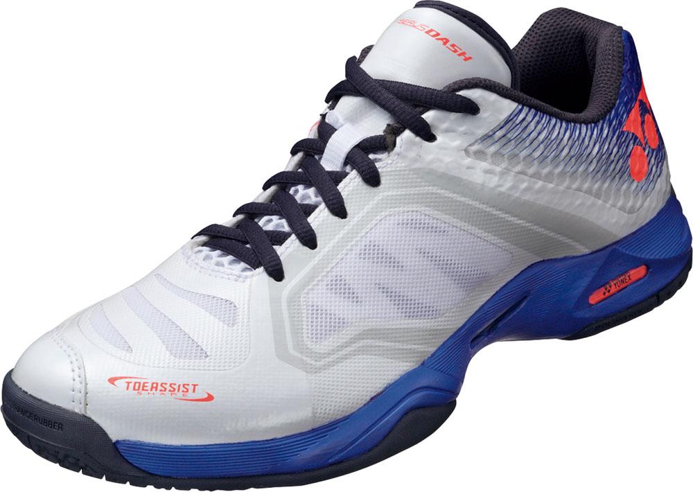 Yonex(ヨネックス)テニスシューズパワークッションエアラスダッシュGC(オムニ・クレーコート用)SHTADGCホワイト/ブルー