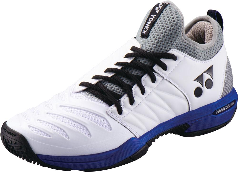 Yonex(ヨネックス)テニスシューズテニスシューズ POWER CUSHION FUSIONREV3 MEN GC(パワークッション フュージョンレブ3 メン GC)SHTF3MGCホワイト/オーシャンBL