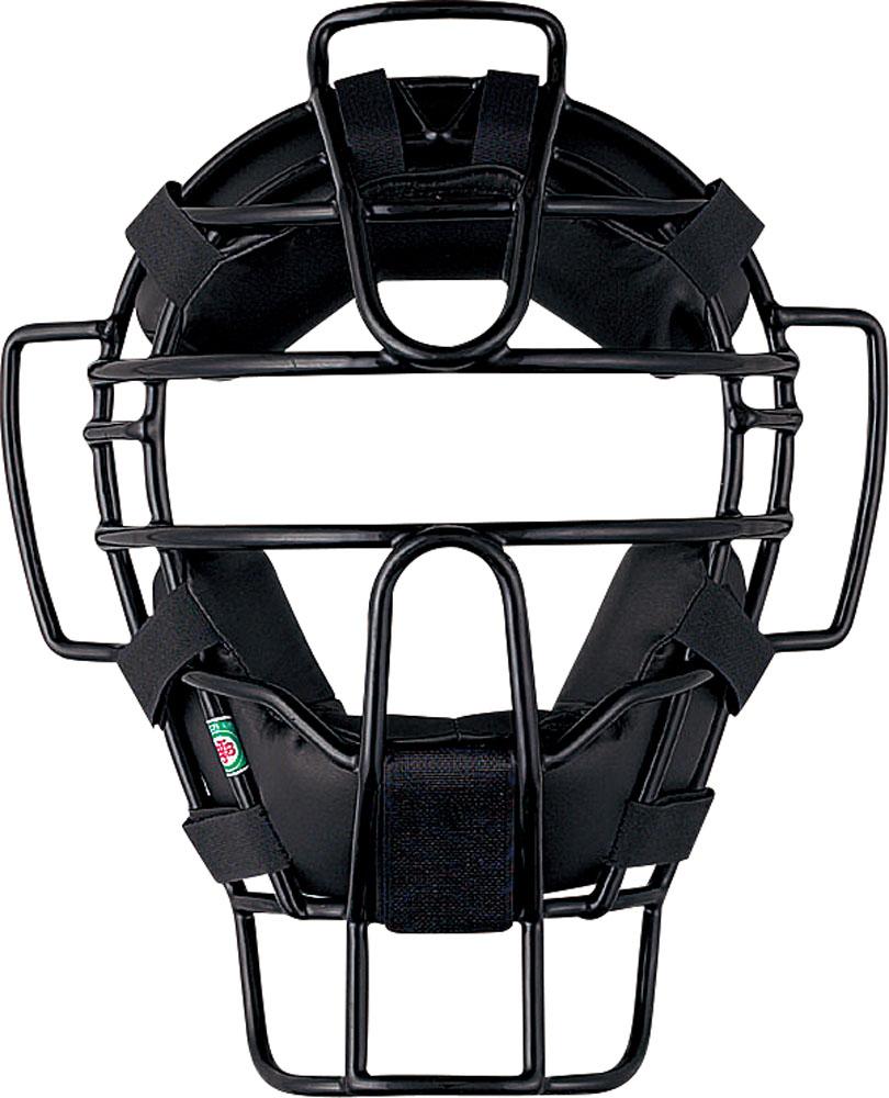 ZETT(ゼット)野球&ソフトマスク・プロテクター大人・中学軟式野球用マスク(A号・B号対応、審判用マスク兼用)(SG基準対応)BLM3190Bブラック