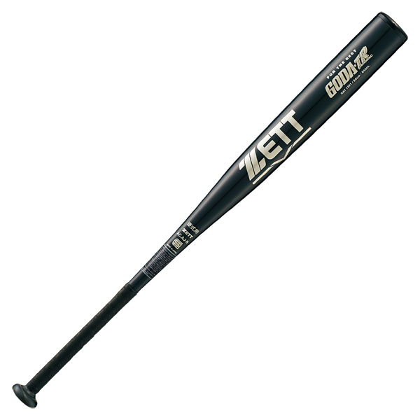 ZETT(ゼット)野球&ソフト野球バット硬式金属製トレーニングバット ゴーダTR 84cmBAT1391ブラック